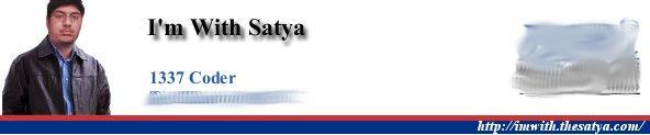 I'm with Satya
